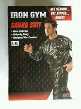 Iron Gym Sauna Suit Size L/Xl *Authentic* New In Box