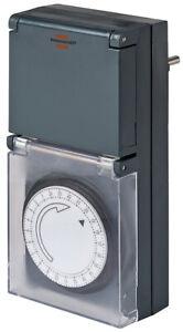 Zeitschaltuhr Outdoor Zeitschalter Außenbereich Schaltuhr Mechanisch Timer Uhr