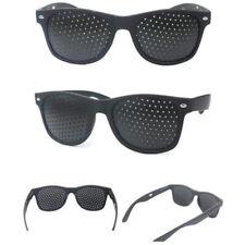 NEW Exercise Eye Care Pinhole Pin Hole Glasses Vision Improve Eyewear Eyesight