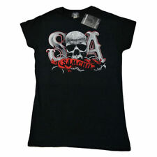 Cotton Crew Neck Skull T-Shirts for Women
