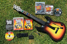 Guitar Hero Playstation 3 PS3. Guitar, Dongle, World Tour + Warriors Games X2