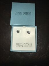 Touchstone Crystal by Swarovski- Crystal ice earrings