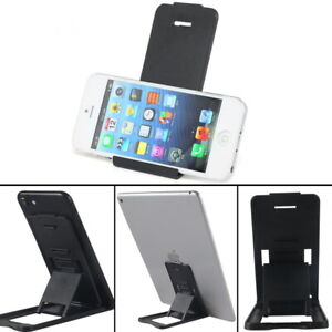 Portable Foldable Desk Stand Folding Holder For Tablet Cell Phone Supporting