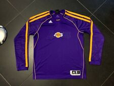 Adidas Los Angeles Lakers long sleeves training jersey pregame warmup L LT large