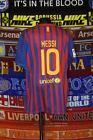 5/5 Barcelona boys 13-15 yrs 158-170cm #10 Messi 2009 football shirt jersey
