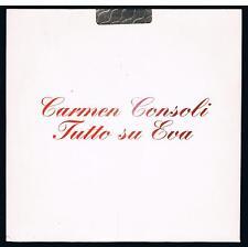 CARMEN CONSOLI TUTTO SU EVA CD SINGOLO cds PROMO