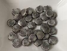 10 Spacer MUSCHELN Farbe bronze 9,5mm Zwischenperlen Metall Perlen #S504