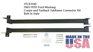 Ford Mustang 1965, 1966, 1967, 1968, 1969, 1970 Coupe Subframe Connectors