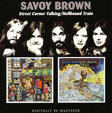 Street Corner Talking / Hellbound Train - Savoy Brown - Remaster - BGO