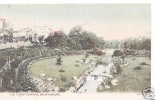 Dorset Postcard - The Upper Gardens, Bournemouth   A5651