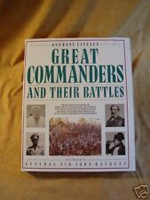 GREAT COMMANDERS & THEIR BATTLES Anthony Livesey 1987 H