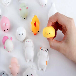 Squishy Animal Toy Squeeze Mochi Soft Sticky Cute Funny Gift Decompression Toy