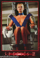 2 POSTERS: MOVIE REPRO: SPECIES II - 2 DIFFERENT - FREE SHIP  RP81 O &  RP81 V