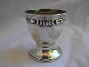 ANTIQUE FRENCH STERLING SILVER EGG CUP,EARLY 20th CENTURY.