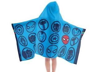 Marvel  Hooded Towel Bath Wrap 23 X 51