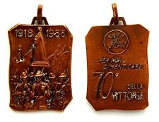 Medaglia Ass. Naz. Alpini - 70° Della Vittoria 1918-1988 (Inc. E. Varisco) Bronz
