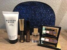Estee Lauder MODERN MUSE 6 pc gift set purse spray Body lotion Glitter Bag New