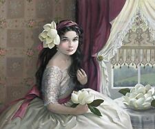 """PATI BANNISTER """"Southern Belle"""" Canvas Signed and Numbered"""