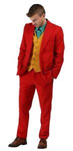 Joker joaquin pheonix movie costume cosplay suit halloween shirt fancy dress