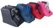 Rhinegold Short Boot Bag Riding Boot Storage Bag - Black,Navy,Red,Pink