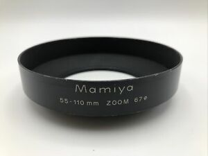 Mamiya 55-110mm Zoom 67Ø Metal Lens Hood Free shipping vintage