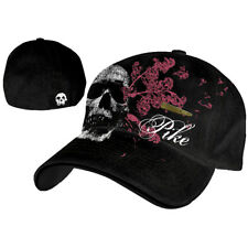 Pike - Black Flex With Skull & Bullet Patch Cappellino Baseball Cap