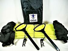 Cintz 30 Foot Speed and Agility Ladder - New with Storage Bag and Accessories.