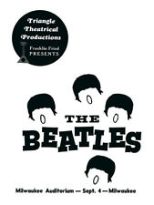 The Beatles - Milwaukee Concert Program front reprint (1964)