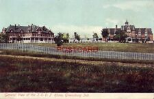 1908 GENERAL VIEW OF I. O. O. F. HOME, GREENSBURG, IND.