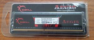 8 GB DDR4 RAM  Arbeitsspeicher PC3200 G.Skill Aegis CL16