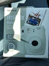 Fujifilm Instax Mini 9 Instant Polaroid Camera -Smoky White.... BRAND NEW !!