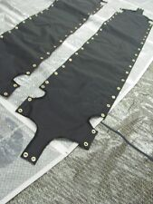 Hobie Cat 18 SX Wing Trampolines Pair Black Mesh New With Tenara Thread