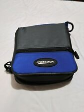 Vintage Case Logic Blue CD/DVD/Blu-Ray Wallet 24-Disc Case Storage