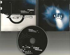 CURVE w/ STEVE OSBORNE Chinese Burn 4TRX  MIXES & EDITS PROMO DJ CD single 1997