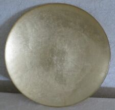 ANTHROPOLOGIE Gold Glass CHARGER PLATE - New