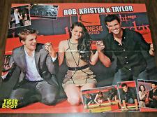 ROBERT PATTINSON KRISTEN STEWART TAYLOR LAUTNER 16x20 2011 Wall Poster