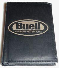 BUELL by Harley Davidson pelle denaro Moto Borsa XB 12 9 soldi preda SKULL BIKER