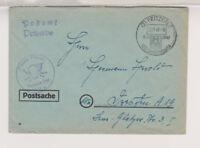 BUND / Postsache / SST, Pritzerbe, 1000 Jahre Pritzerbe,22.11.48, Faltbug