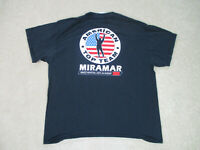 American Top Team Shirt Adult Extra Large Black Mixed Martial Arts MMA Fighter *