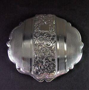 - alte 835 Silber Dose - 1920er Jahre