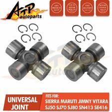 2 Universal Joint for Suzuki Sierra Maruti Drover Jimny (11/84+) SJ410 SJ413