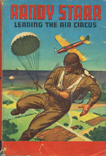 Vintage Boys' Book: Randy Starr Leading the Air Circus ~ HC/DJ 1932