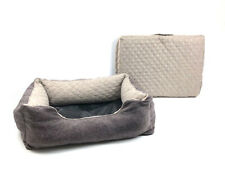 Premium  Dog Bed 2-in-1  & Travel Bed Memory Foam quilted  Large 38in