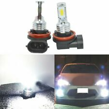 H11 H8 H16 LED Fog Lights Conversion Bulbs Kit Premium 35W 4000LM 6000K White