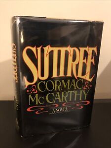 Suttree by Cormac McCarthy 1st Edition Hardcover 1979 Rare