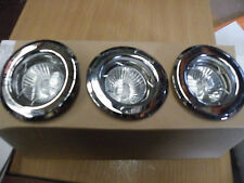 THREE FIXED DOWN LIGHTS FROM HOMEBASE