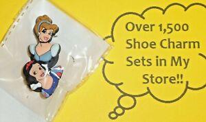 Shoe Charms Shoe Buttons Plugs Decoration snow white