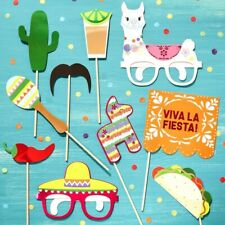 VIVA LA FIESTA MEXICAN PHOTO BOOTH PARTY PROPS - Summer Time Party, Selfie
