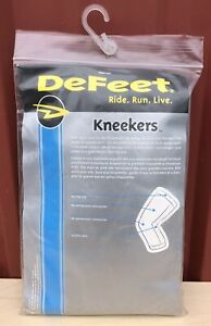NEW DeFeet Kneekers Cycling Bike Knee Warmers One Size Black
