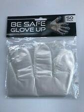 200 / 250 500 / 1000 / 2000 Count - Clear PE Poly Food Service Gloves Latex Free